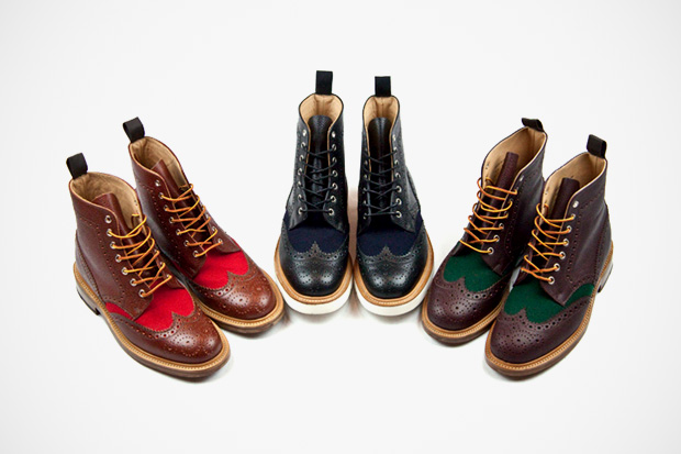 Image of Standard x Mark McNairy 2012 Spring/Summer Brogue Boots
