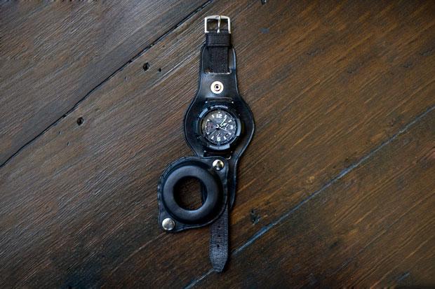 Image of Men's File x Casio G-Shock Premium GW-3000BB Leatherback Watch