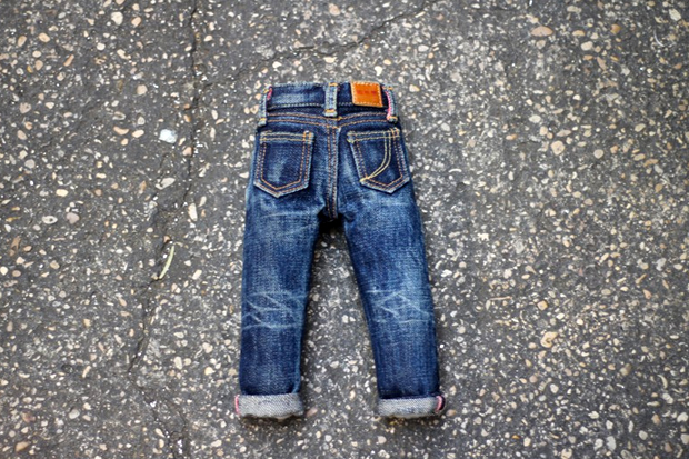 Image of Momotaro Jeans Mini Denim
