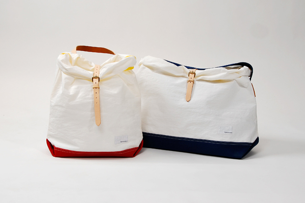 Image of nanamica 2012 Spring/Summer White Nylon Tote Bag