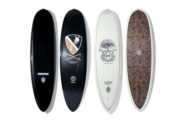 "Image of NEIGHBORHOOD x ENO Surfboards 2012 ""CHARIE"" Series Surfboards"