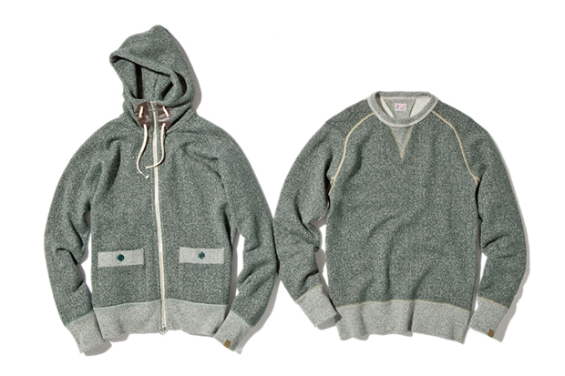 Image of NEXUSVII x Loopwheeler Fleece Set
