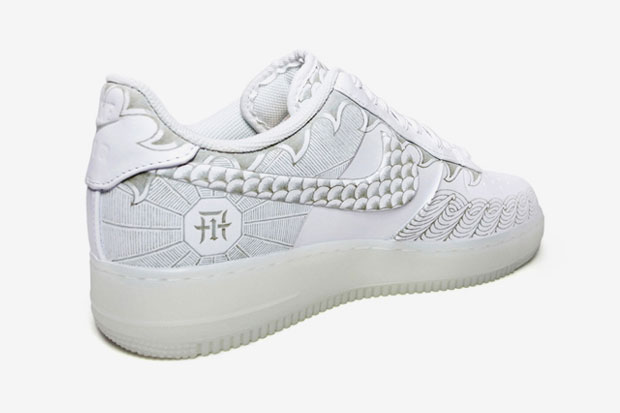 "Image of Nike Air Force 1 Low 30th Anniversary ""Year of Dragon"" Bespoke by Zhijun Wang"