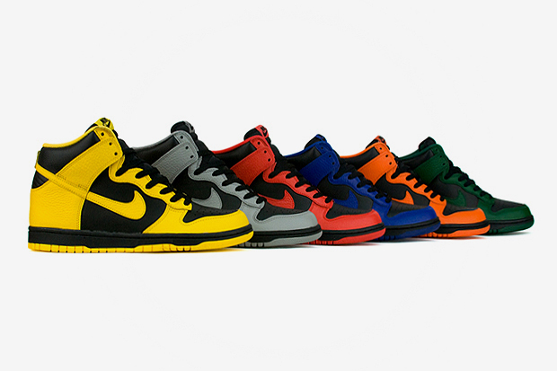Image of Nike Dunk 2012 Spring March Madness Pack