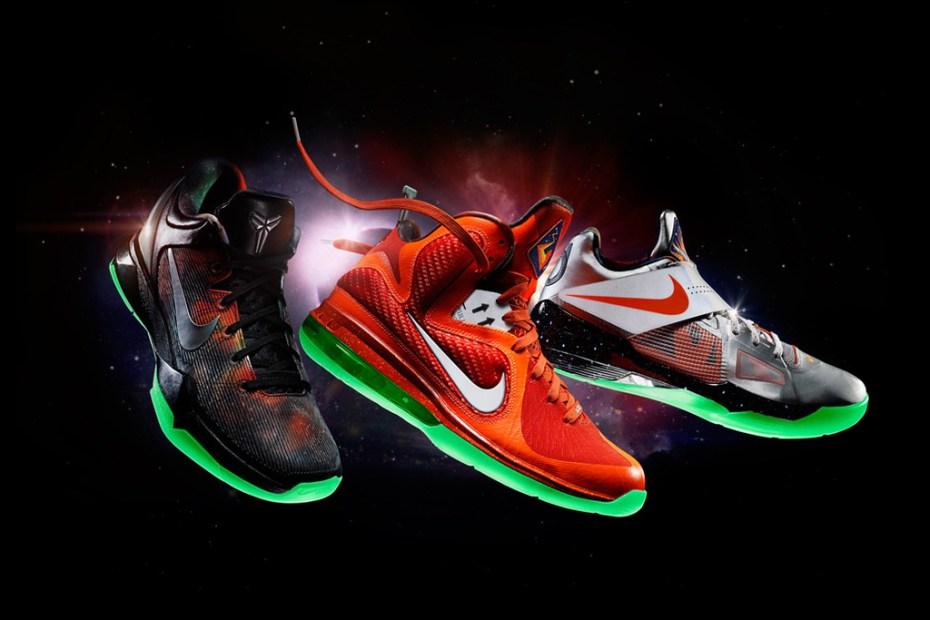 nike nba 2012 allstar game footwear releases hypebeast