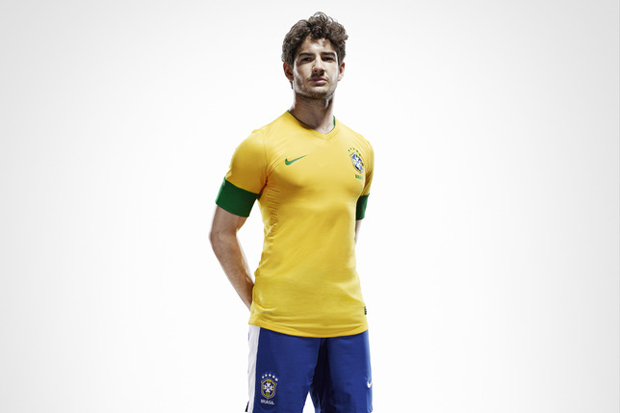 Image of Nike Soccer 2012 Brazil National Team Jersey