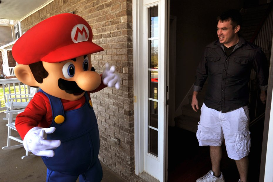 Image of Nintendo Delivers Real Life Mario Kart to GameStop Winner
