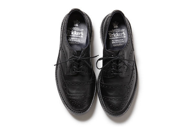 Image of nonnative x Tricker's Rider Shoes in Cow Leather
