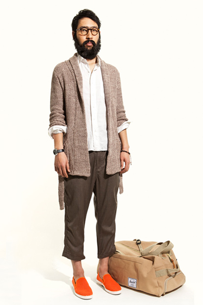 "Image of nonnative@UNITED ARROWS & SONS 2012 Spring/Summer ""CAFÉ HAFA"" Collection"