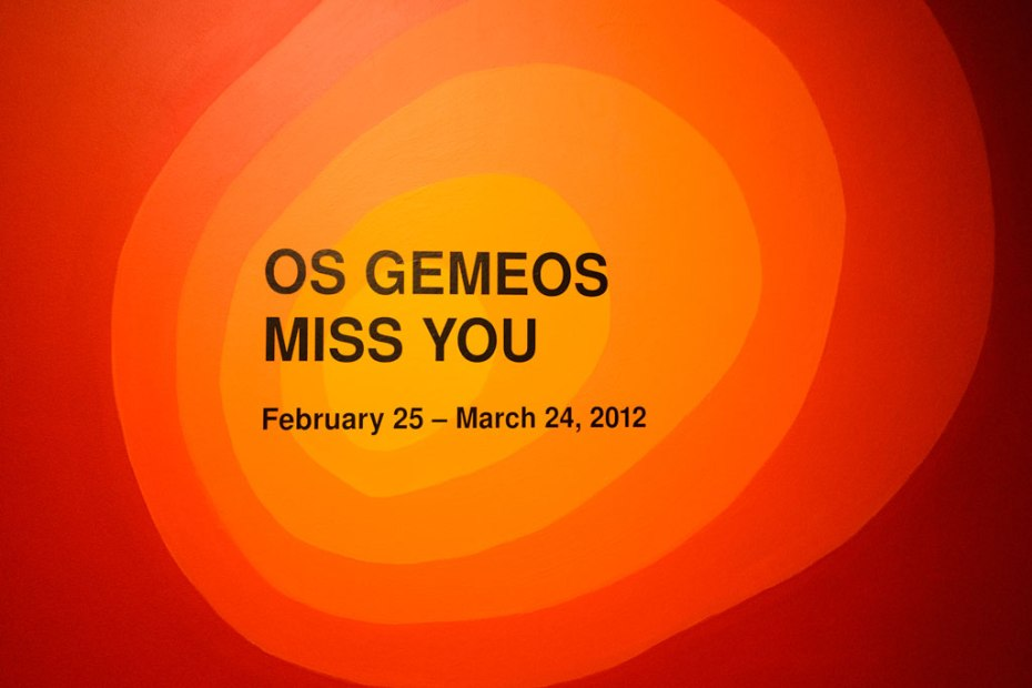 "Image of Os Gemeos ""Miss You"" Exhibition @ PRISM GALLERY"
