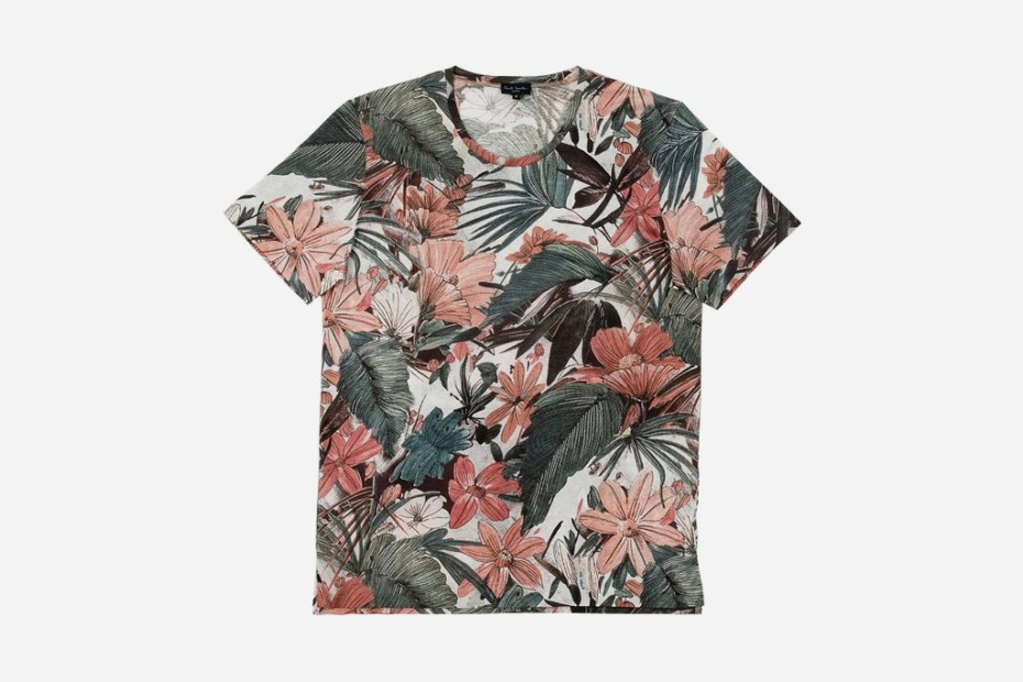 Image of Paul Smith 2012 Spring Floral T-Shirts
