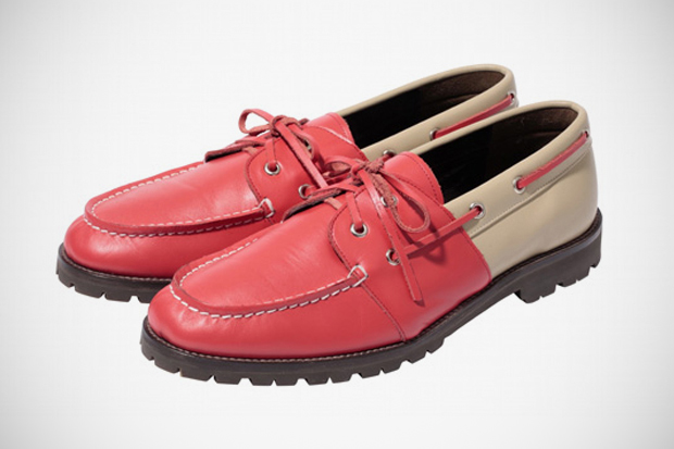 Image of PHENOMENON 2012 Spring/Summer Leather Moccasin