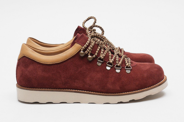 Image of Pointer 2012 Spring/Summer Tenzing Suede Burgundy/Camel White