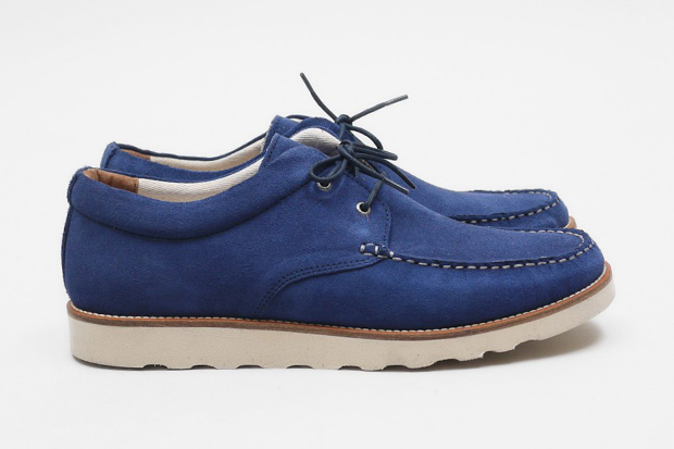 Image of Pointer Cornflower Blue Saha II Suede Shoe