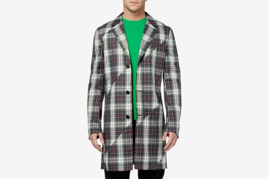 Image of Raf Simons 2012 Spring/Summer Tartan Jacket