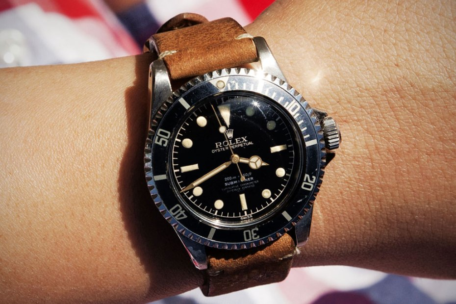 Image of Retrospect: 1961 Rolex Pointed Crownguard Gilt Underline Submariner