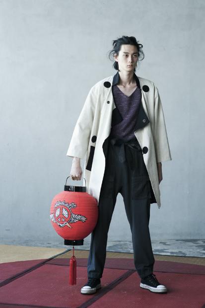 "Image of SASQUATCHfabrix. 2012 Spring/Summer ""Japonism Sunbeam"" Collection Lookbook"