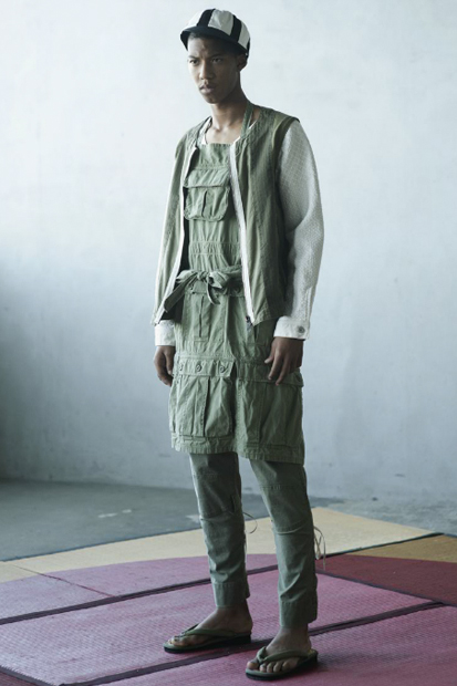 "Image of SASQUATCHfabrix. 2012 Spring/Summer ""Japonism Sunbeam"" Collection Lookbook"