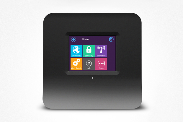 "Image of SECURIFI ""Almond"" Touchscreen Wireless Router"