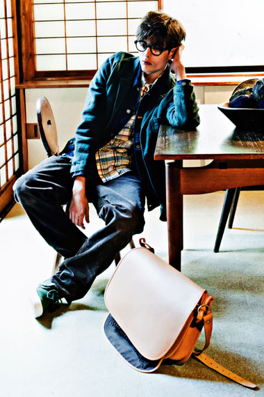 "Image of SENSE Magazine ""TEXT in visvim"" 2012 Spring/Summer Collection Editorial"