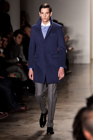 Image of Simon Spurr 2012 Fall/Winter Collection