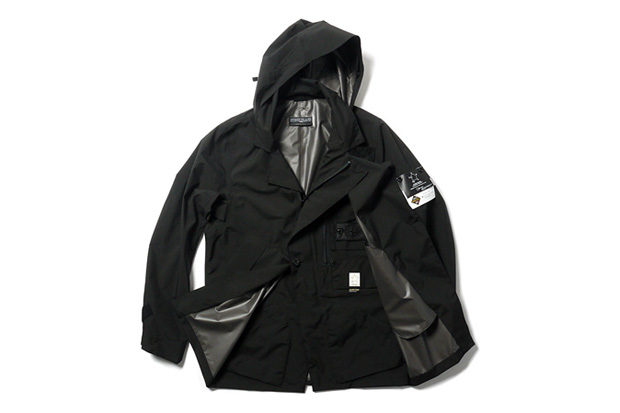 Image of Stone Island Shadow Project GORE-TEX PACLITE Stealth Trench Coat