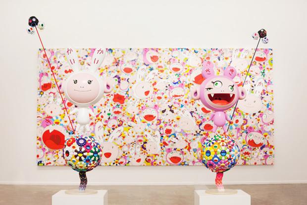 "Image of Takashi Murakami ""Ego"" Exhibition @ Al Riwaq Exhibition Hall"