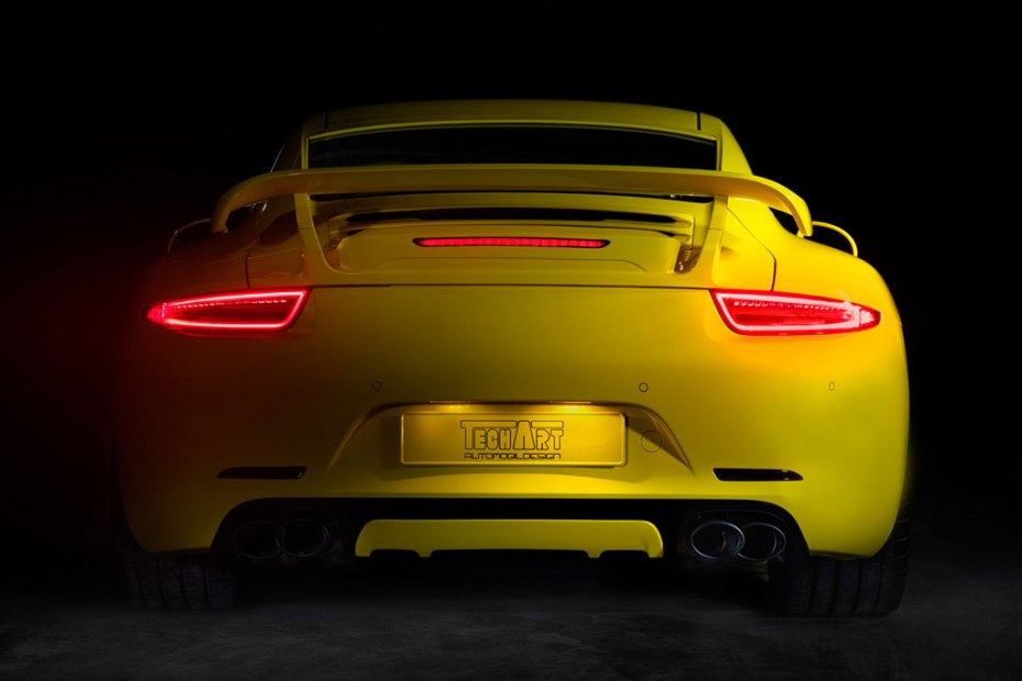 Image of TECHART's New Porsche 911 Preview