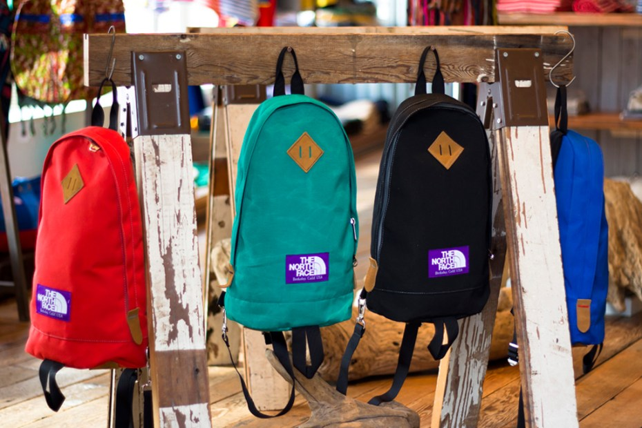 Image of THE NORTH FACE PURPLE LABEL 2012 Spring/Summer Bag Collection