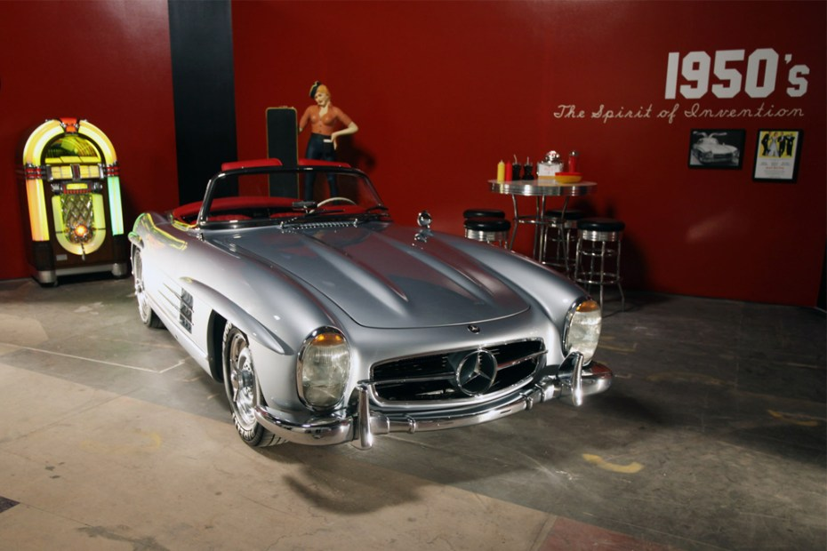 Image of Timeless: 60 Years of the Mercedes-Benz SL Exhibition