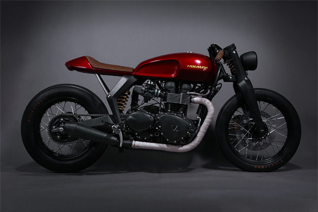 Image of Triumph x Barbour Speed Twin Concept
