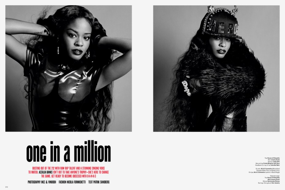 Image of V Magazine: Azealia Banks - one in a million