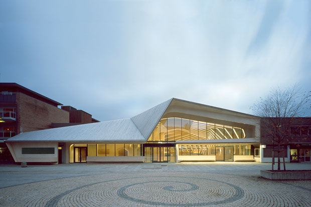 Image of Vennesla Library &amp; Cultural Center
