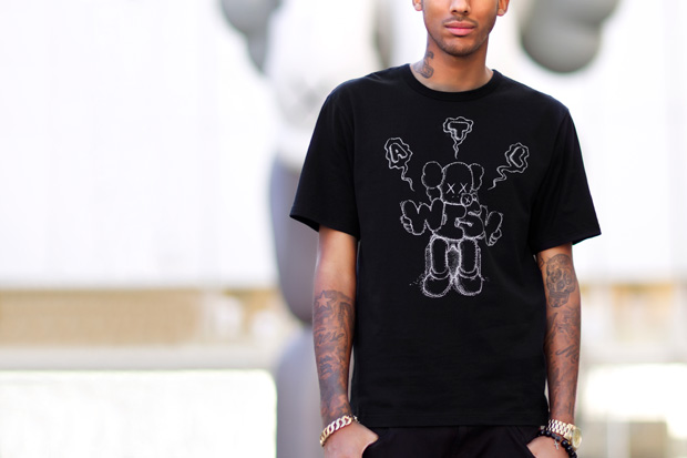 Image of Wish x KAWS 2012 Collaboration T-Shirt