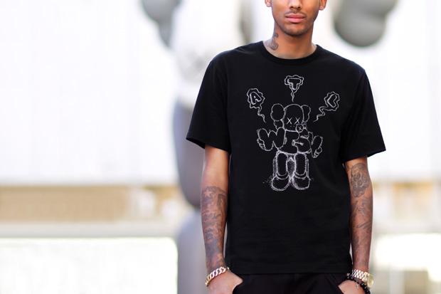 Image of Wish x KAWS 2012 Collaboration T-Shirt