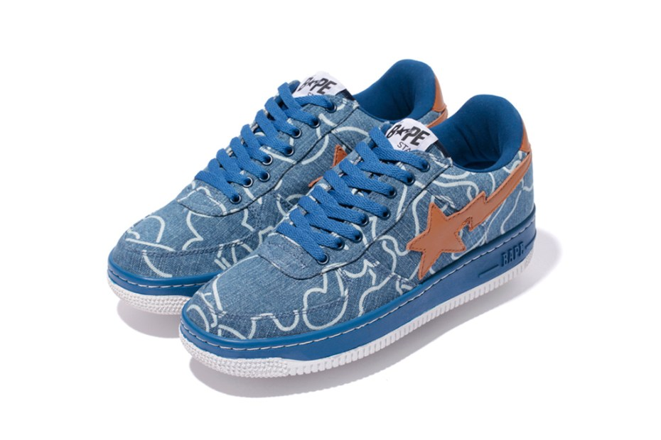 Image of A Bathing Ape DENIM BAPE STA