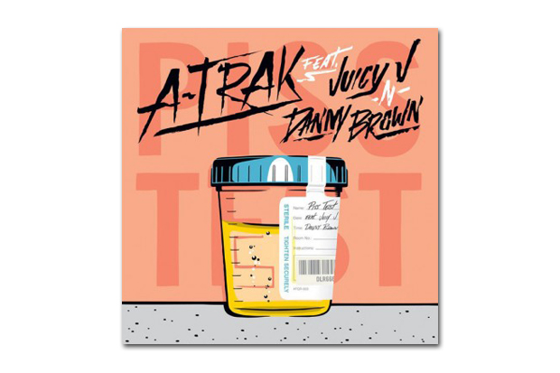 Image of A-Trak featuring Juicy J & Danny Brown - Piss Test