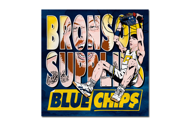 Image of Action Bronson & Party Supplies – Blue Chips | Mixtape