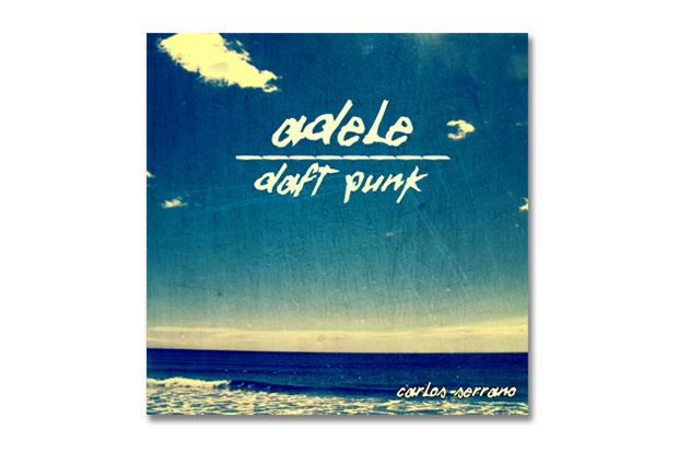 Image of Adele vs. Daft Punk – Something About The Fire | Carlos Serrano Mix