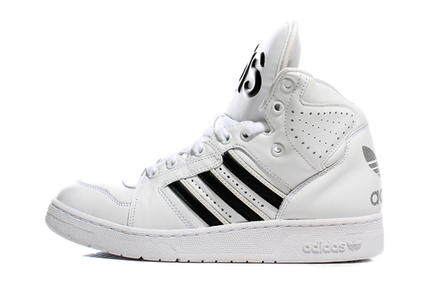 Image of adidas Originals by Jeremy Scott JS Instinct Hi White