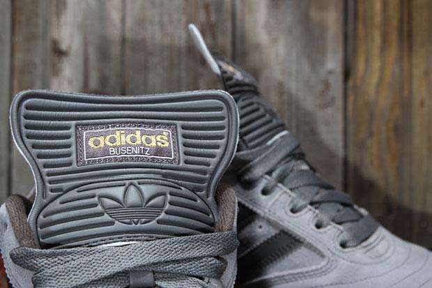 Image of adidas Skateboarding Busenitz Pro Mid Cinder/Dark Cinder/Running White