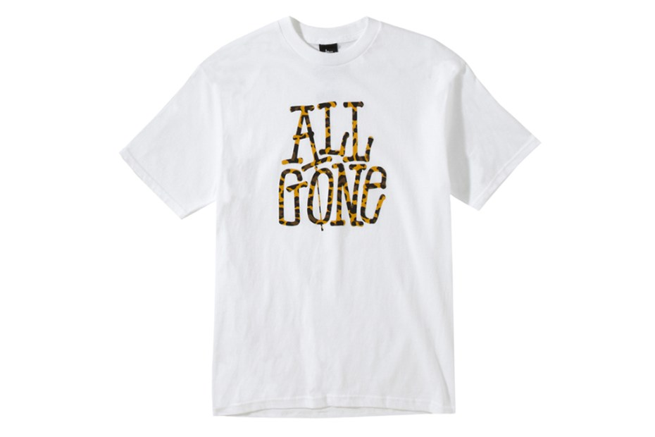 Image of All Gone x Stussy T-Shirt