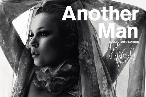 Image of AnOther Man Issue 14 2012 Spring/Summer Collector's Edition featuring Kate Moss