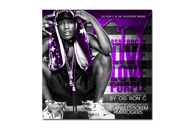 Image of A$AP Rocky - Live Love Purple | Mixtape