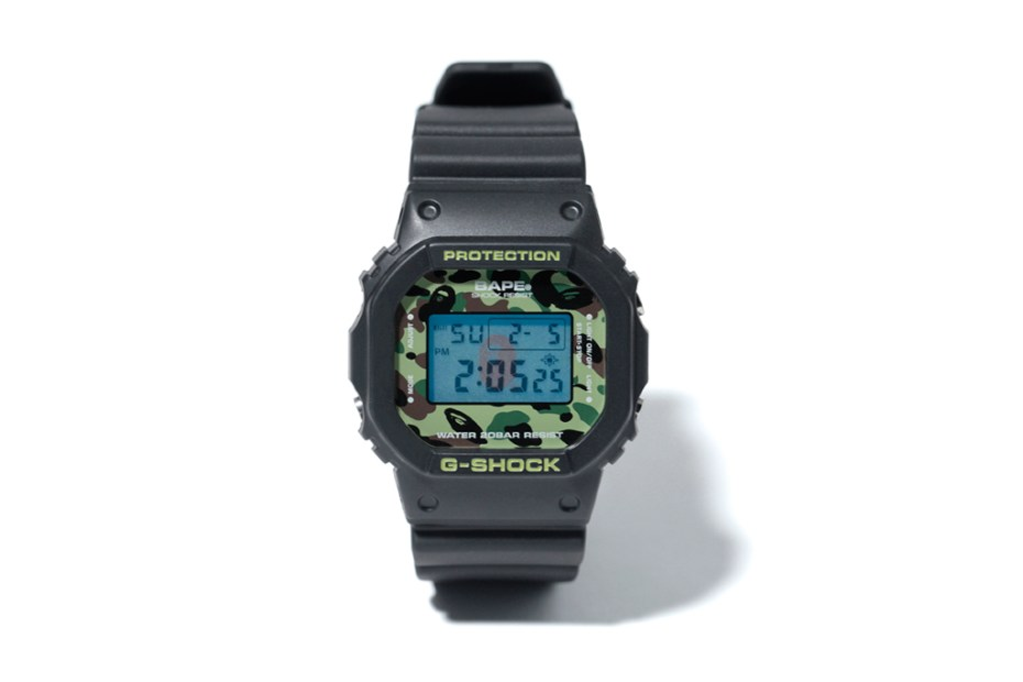 Image of A Bathing Ape x Casio 1ST CAMO G-Shock