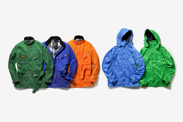 Image of Barbour 2012 Spring/Summer Color Reborn International Jacket Collection