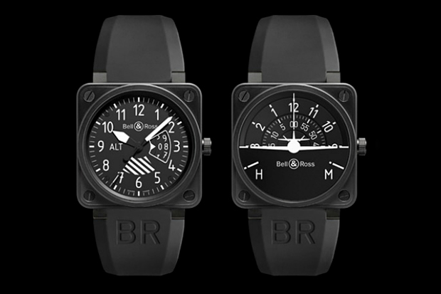 "Image of Bell & Ross ""Flight Instruments"" Collection"