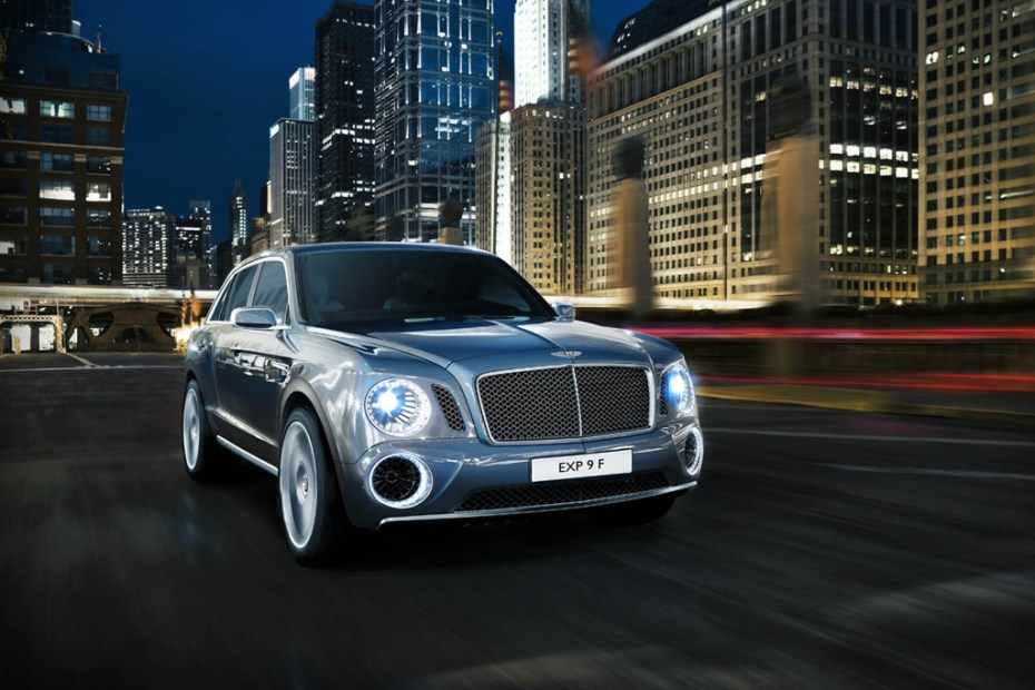 Image of Bentley EXP 9 F Concept SUV