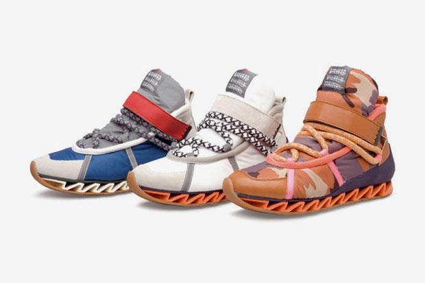 Image of Bernhard Willhelm x Camper 2012 Spring/Summer Hiking Boots