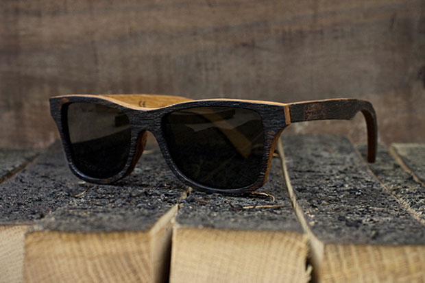 "Image of Bodega x Shwood ""The Bushmills"" Sunglasses"